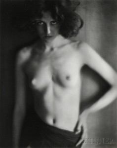Sold for: $3,998 - Edward Weston (American, 1886-1958)      Nude