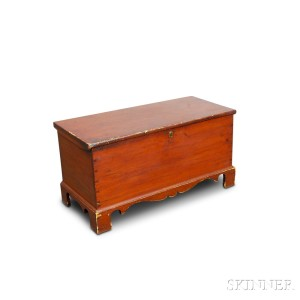 Pine Six-board Chest