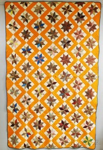 Calico Star Patchwork Quilt