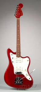 American Electric Guitar, Fender Musical Instruments, Fullerton, 1966, Model Jazzmas