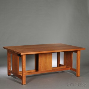 Large Thomas Moser Library Table