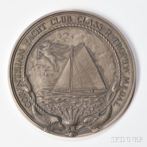 Reed & Barton Sterling Silver Corinthian Yacht Club Medal