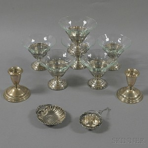 Group of Assorted Sterling Silver Tableware