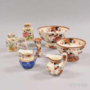 Eight Wedgwood Queen's Ware Items
