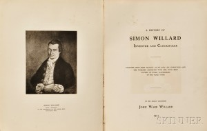 A History of Simon Willard Inventor and Clockmaker