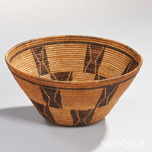 Kern-Inyo Coiled Basketry Bowl