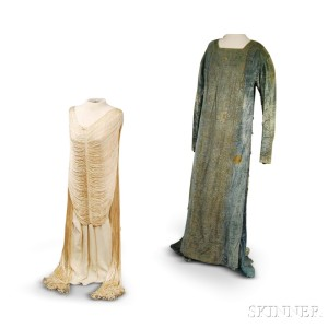 Two Art Deco Evening Gowns
