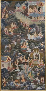 Painting of Jataka Buddhist Tales