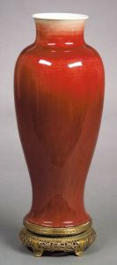 Sold for: $64,625 - Lang Yao Vase