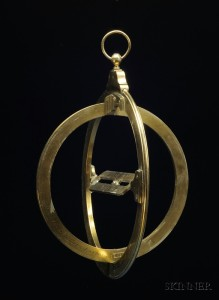 Sold for: $18,960 - 10-inch Universal Equinoctial Ring Dial by W. & S. Jones