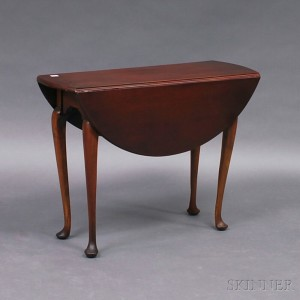 Queen Anne Cherry Drop Leaf Table
