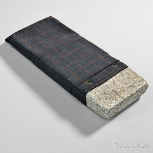 Shaker Soapstone Footwarmer with Cover