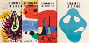 Galerie Maeght, editor (French, 20th Century)      Lot of Fifteen Issues of DERRIERE LE MIROIR
