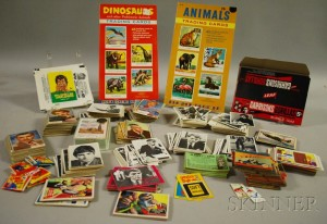 Sold for: $44,438 - Large Lot of Assorted 1960s-70s Collector Gum Cards