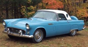 Sold for: $15,275 - 1956 Ford Thunderbird Coupe