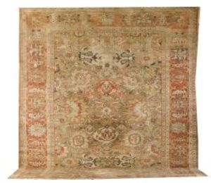 Sold for: $44,650 - Ushak Carpet