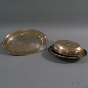 Two Pieces of Sterling Silver Tableware