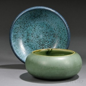 Marblehead and Hampshire Pottery Bowls