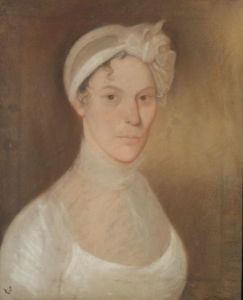 American School, 19th Century    Portrait of a Young Woman.
