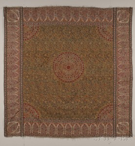 Sold for: $59,250 - Kashmir Moon Shawl