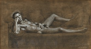 Jared French (American, 1905-1987)      Model Not Posing