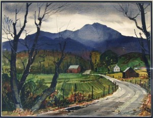 Ted Kautzky (American, 1896-1953)      Valley Farm.