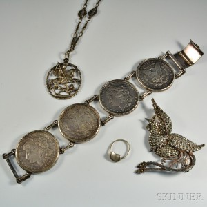 Group of Silver Jewelry
