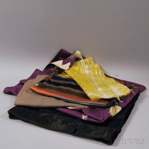 Five Assorted Fashion Textiles