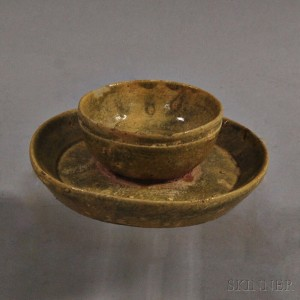 Goryeo Celadon Ceramic Cup Holder