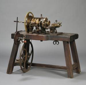 Sold for: $44,438 - Rose Engine from the Shop of A. L. Breguet, Paris, France