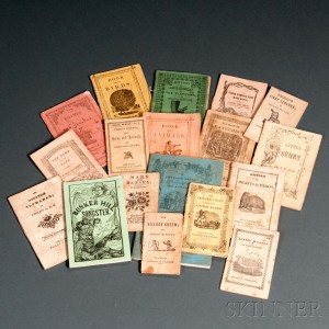 Collection of Miniature 19th Century Chapbooks