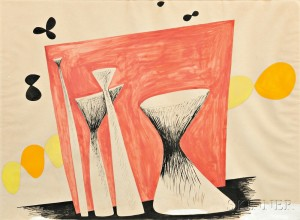 Alexander Calder (American, 1898-1976)      Abstract Composition