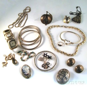 Group of Mostly Sterling Silver Jewelry