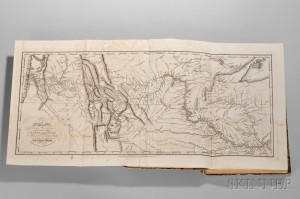 Sold for: $15,990 - Lewis, Meriwether (1774-1809) and William Clark (1770-1838) Travels to the Source of the Missouri River and Across the American Contine