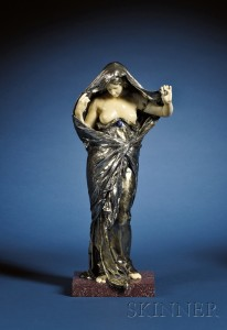Sold for: $50,363 - Louis-Ernest Barrias (French, 1841-1905)
