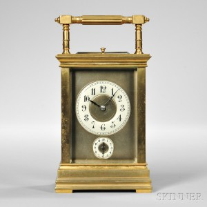 Half Grand Sonnerie Repeating Carriage Clock with Alarm