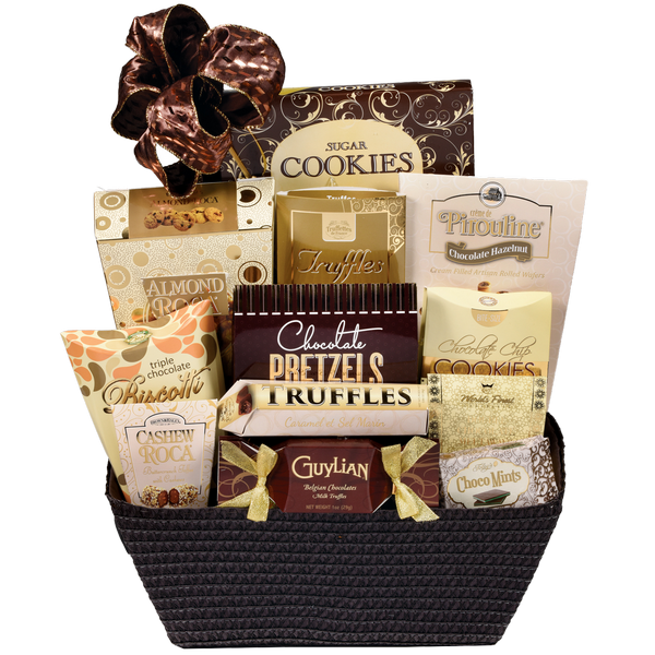 sc 1 st  Annu0027s Flowers & Bank of Chocolate Gift Basket - Markham ON Florist