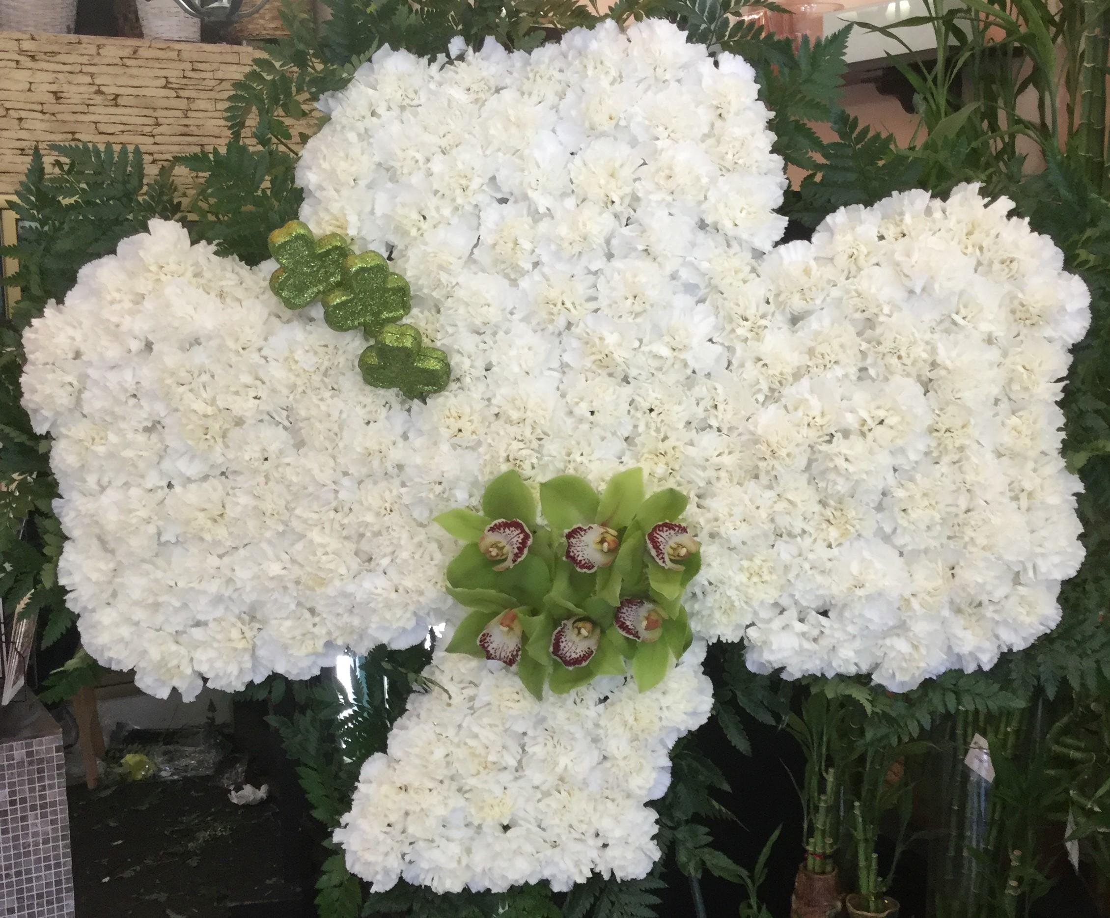 Shamrock funeral design call for availabil tarrytown ny florist izmirmasajfo