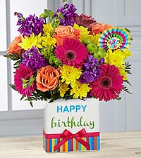 the ftd® birthday brights™ bouquet - ft worth, tx florist
