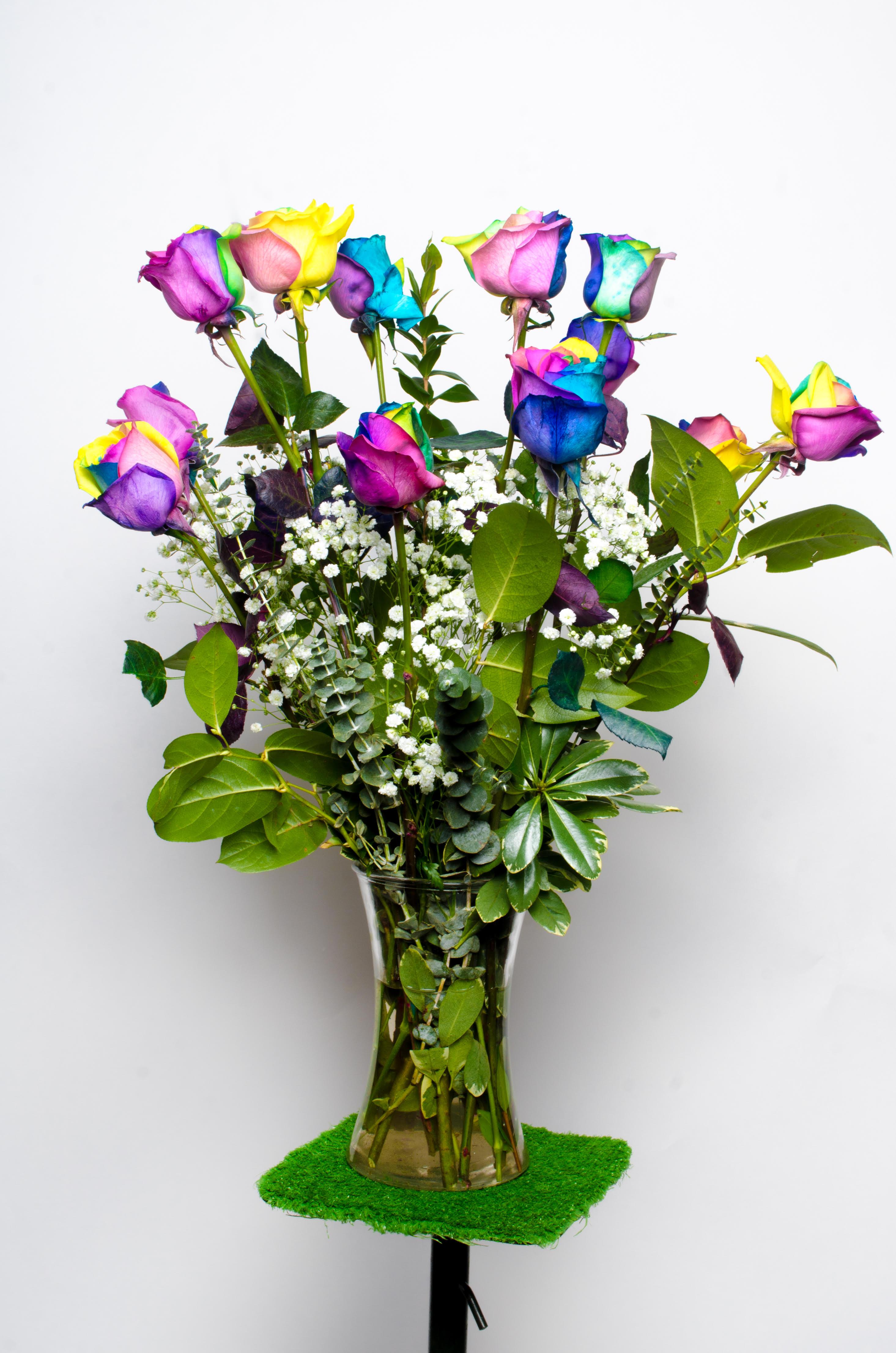 True blue roses chicago il florist izmirmasajfo