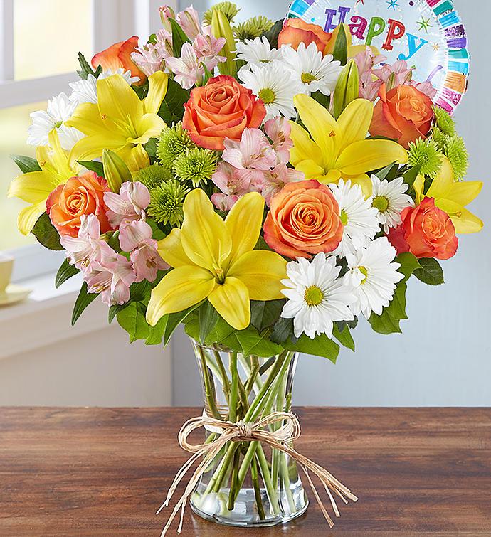 Image result for birthday floral arrangement