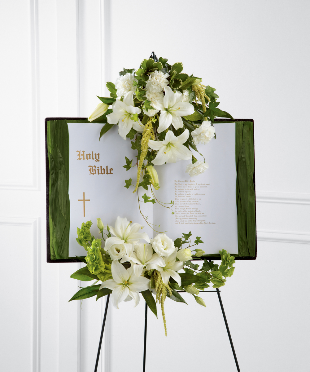 The Ftd Peaceful Thoughts Bible Altamonte Springs Fl Florist