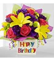 The happy Birthday Bouquet by FTD