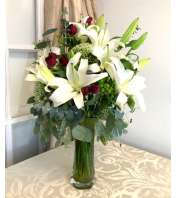 Graceful Lilies Bouquet