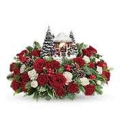 Thomas Kinkade Jolly Santa