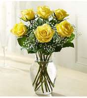 Six Yellow Roses