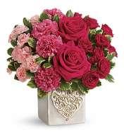 Swirling Hearts Bouquet