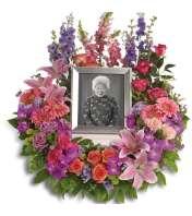In Loving Memory Wreath