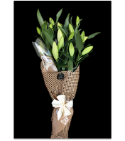 European style Lily Bouquet
