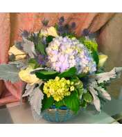 Waves of Blue Centerpiece